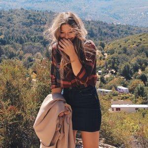 Paige Denim Mini Skirt